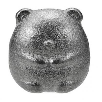 〔小禮堂〕角落生物 北極熊 日製南部鐵器鐵玉《銀.坐姿》補鐵
