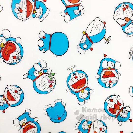 〔小禮堂〕哆啦A夢 日製L型文件夾《A4.白.50週年》資料夾.L夾.檔案夾