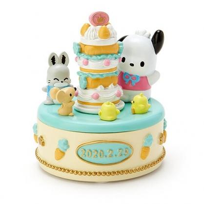 〔小禮堂〕帕恰狗 造型陶瓷拿蓋收納盒《黃》置物盒.飾品盒.生日蛋糕系列