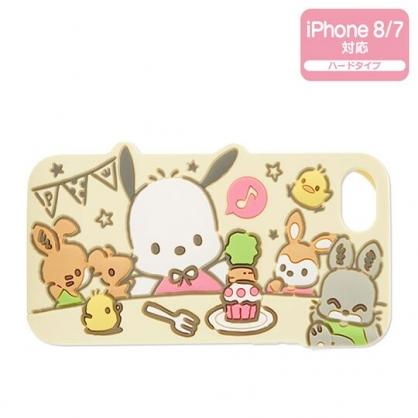 〔小禮堂〕帕恰狗 iPhone 8/7 造型矽膠全包式手機殼《黃》保護殼.裝飾殼.生日蛋糕系列