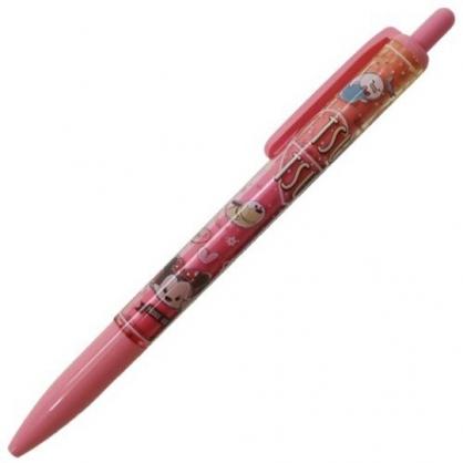 〔小禮堂〕迪士尼 TsumTsum 日製自動鉛筆《粉.愛心》0.5mm.SUNSTAR系列