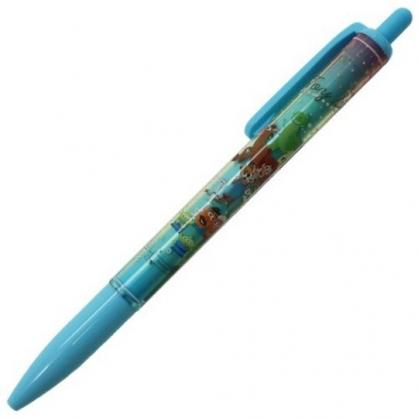 〔小禮堂〕迪士尼 玩具總動員 日製自動鉛筆《綠.角色集合》0.5mm.SUNSTAR系列