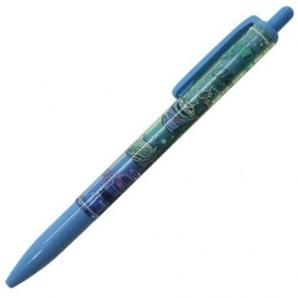 〔小禮堂〕迪士尼 三眼怪 日製自動鉛筆《藍.舉手》0.5mm.SUNSTAR系列