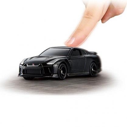〔小禮堂〕TOMICA小汽車 NISSAN電動GT-R跑車《02.黑》公仔.玩具.模型