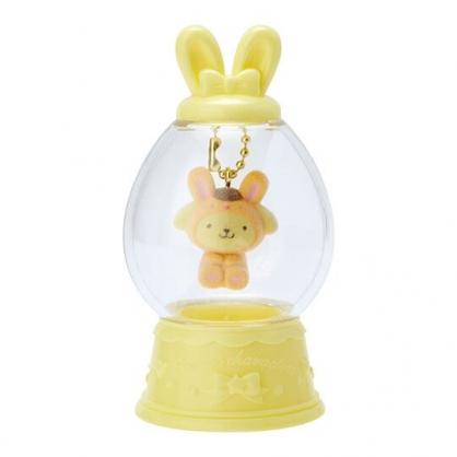 〔小禮堂〕布丁狗 水晶球造型植絨玩偶娃娃吊飾《黃》掛飾.鑰匙圈.2020復活節系列