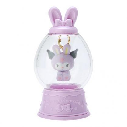 〔小禮堂〕酷洛米 水晶球造型植絨玩偶娃娃吊飾《紫》掛飾.鑰匙圈.2020復活節系列