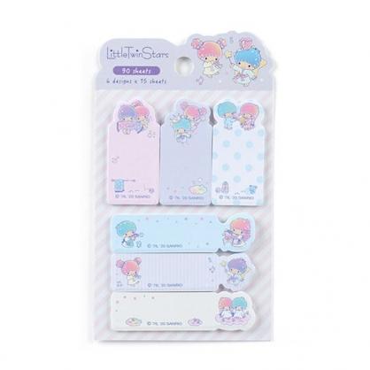 小禮堂 雙子星 日製造型自黏標籤 便利貼 N次貼 書籤貼 標籤貼 便條紙 (紫 手杖)