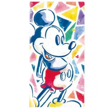 小禮堂 迪士尼 米奇 日製 抗菌 口罩收納夾 收納包 口罩夾 (彩 站姿)