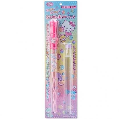 小禮堂 Hello Kitty 吹泡泡玩具 大泡泡玩具 戶外玩具 長筒造型 (粉 彩色熊)