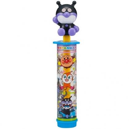 小禮堂 麵包超人 細菌人 按壓式水槍玩具 沙灘玩具 親子玩具 戲水玩具 長筒造型 (紫)