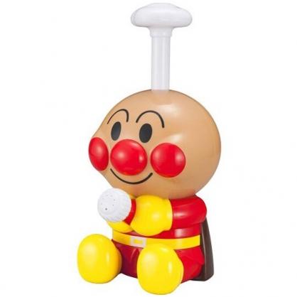 小禮堂 麵包超人 按壓式水槍玩具 沙灘玩具 親子玩具 戲水玩具 全身造型 (紅黃 坐姿)