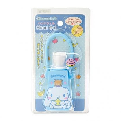 小禮堂 大耳狗 乾洗手 潔手凝露 手部清潔 矽膠瓶裝 水果香 28g (藍)