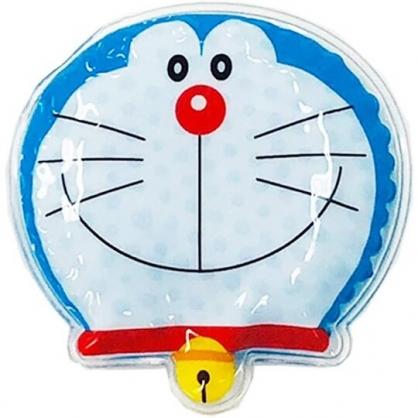 小禮堂 哆啦A夢 透明果凍顆粒 保冷劑 保冰劑 冰墊 冰枕 冰敷袋 (藍 大臉)