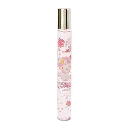 小禮堂 美樂蒂 滾珠香水 隨身香水 筆型香水 小香 香氛 玫瑰香 10ml (粉藍)