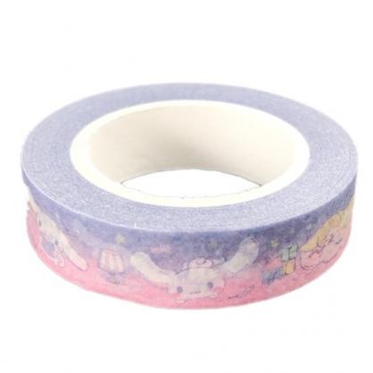 小禮堂 大耳狗 紙膠帶 裝飾膠帶 膠布 禮物包裝 10mmx10m (藍 朋友)