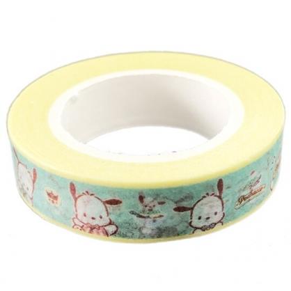 小禮堂 帕恰狗 紙膠帶 裝飾膠帶 膠布 禮物包裝 10mmx10m (綠 服務生)