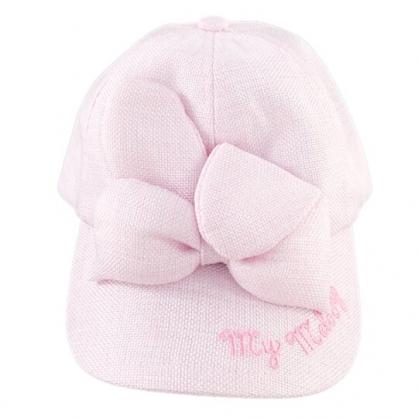 小禮堂 美樂蒂 鴨舌帽 兒童帽 籐編帽 棒球帽 遮陽帽 草帽 (粉 2020夏日服飾)