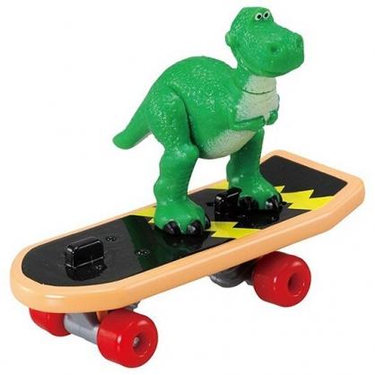 小禮堂 TOMICA 多美小汽車 抱抱龍 滑板車公仔 模型 兒童玩具 (TS-10 綠)