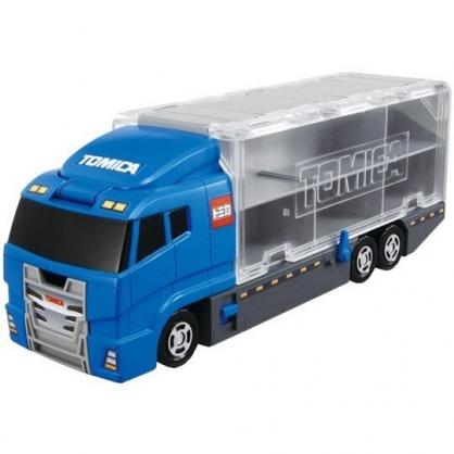 小禮堂 TOMICA多美小汽車  運輸車 玩具車 公仔 模型 兒童玩具 (藍灰 海鷗號)