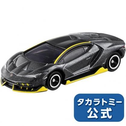 小禮堂 TOMICA 多美小汽車  藍寶堅尼跑車 玩具車 公仔 模型 兒童玩具 (81 黑)