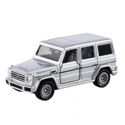 小禮堂 TOMICA 多美小汽車  賓士越野車 玩具車 公仔 模型 兒童玩具 (35 銀黑)