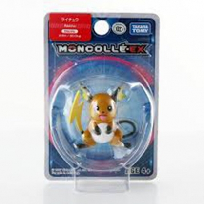 小禮堂 神奇寶貝Pokemon 雷丘 迷你 塑膠公仔 玩具 模型 寶可夢公仔 (棕黃)