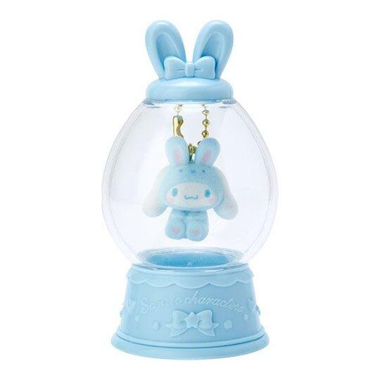 〔小禮堂〕大耳狗 水晶球造型植絨玩偶娃娃吊飾《藍》掛飾.鑰匙圈.2020復活節系列
