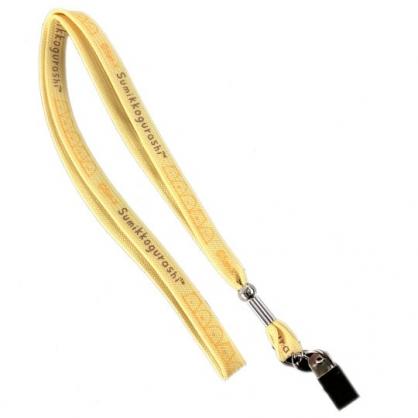 小禮堂 角落生物 多功能頸繩 頸掛繩 證件掛帶 識別證帶 掛飾 (黃 探頭)