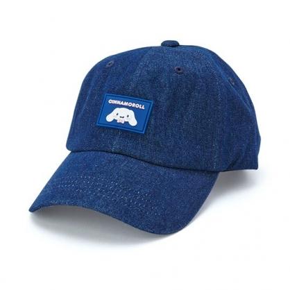 小禮堂 大耳狗 鴨舌帽 老帽 休閒帽 棒球帽 遮陽帽 (深藍 2020夏日服飾)
