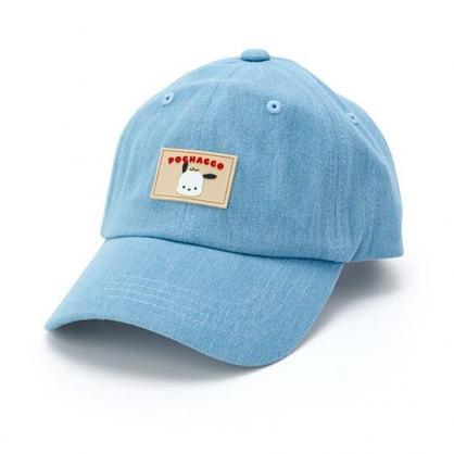 小禮堂 帕恰狗 鴨舌帽 老帽 休閒帽 棒球帽 遮陽帽 (淺藍 2020夏日服飾)