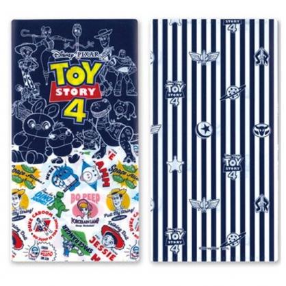 小禮堂 迪士尼 玩具總動員 日製 口罩夾 收納夾 口罩收納 抗菌加工 (黑白 塗鴨風)