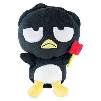 小禮堂 酷企鵝 沙包玩偶 絨毛 娃娃 布偶 玩具 (S 黑 頑皮海豹)