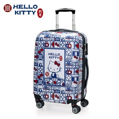 (現貨) 小禮堂 Hello Kitty x 故宮博物院 20吋 登機箱 硬殼 行李箱 旅行箱 TSA海關鎖