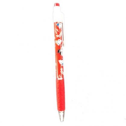 小禮堂 Hello Kitty 自動鉛筆 自動筆 學童文具 (紅 變裝)