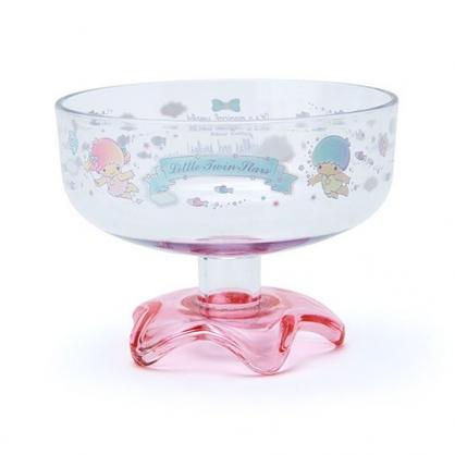 小禮堂 雙子星 日製 冰淇淋杯 塑膠杯 矮腳杯 聖代杯 派對杯 飲料杯 310ml (粉 2020新生活)