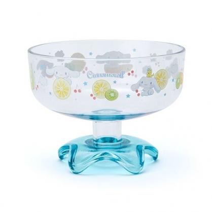 小禮堂 大耳狗 日製 冰淇淋杯 塑膠杯 矮腳杯 聖代杯 派對杯 飲料杯 310ml (藍 2020新生活)