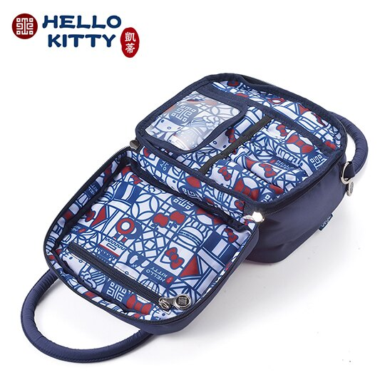 (現貨) 小禮堂 Hello Kitty x 故宮博物院 氧氣旅行萬用包 手提包 旅行盥洗包