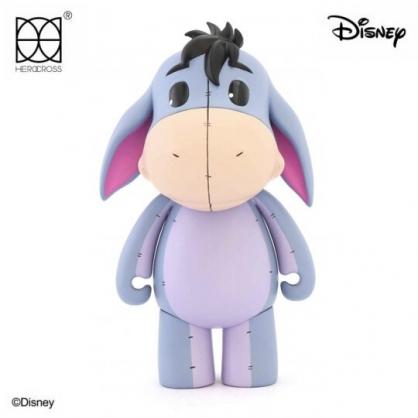 小禮堂 迪士尼 小熊維尼 屹耳 HEROCROSS 塑膠公仔 動動娃娃 玩偶 娃娃 (藍 CFS#004)