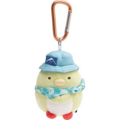 小禮堂 角落生物 絨毛吊飾 沙包娃娃 布偶 玩具 吊飾 掛飾 鑰使圈 鎖圈 (綠 企鵝)