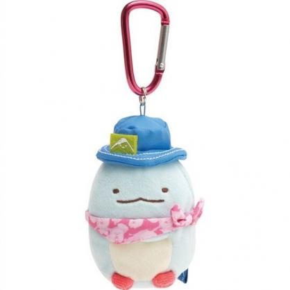 小禮堂 角落生物 絨毛吊飾 沙包娃娃 布偶 玩具 吊飾 掛飾 鑰使圈 鎖圈 (藍 恐龍)