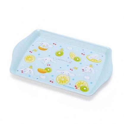 小禮堂 大耳狗 迷你 美耐皿托盤 方盤 塑膠盤 餅乾盤 置物盤 (藍 2020新生活)