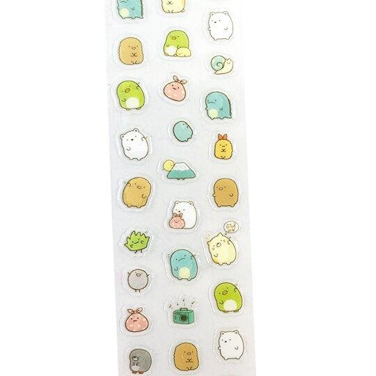 小禮堂 角落生物 彩繪指甲貼 美甲貼紙 DIY美甲 卡通指甲貼 (粉 探頭)