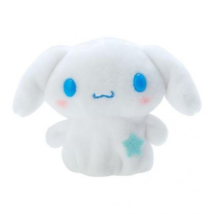 小禮堂 大耳狗 手指娃娃 絨毛 玩偶 指偶 手偶 布偶 玩具 (藍白)