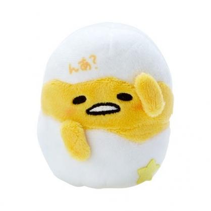小禮堂 蛋黃哥 手指娃娃 絨毛 玩偶 指偶 手偶 布偶 玩具 (黃白)