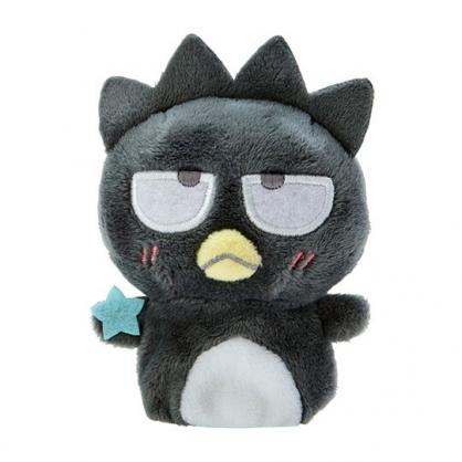 小禮堂 酷企鵝 手指娃娃 絨毛 玩偶 指偶 手偶 布偶 玩具 (黑白)