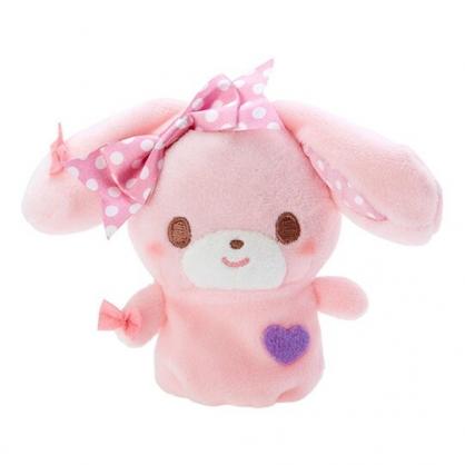 小禮堂 蹦蹦兔 手指娃娃 絨毛 玩偶 指偶 手偶 布偶 玩具 (粉紫)