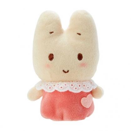 小禮堂 兔媽媽 手指娃娃 絨毛 玩偶 指偶 手偶 布偶 玩具 (粉米)