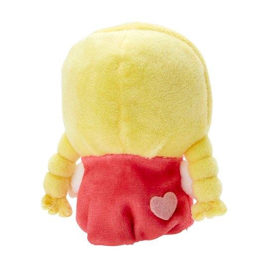 小禮堂 Patty 手指娃娃 絨毛 玩偶 指偶 手偶 布偶 玩具 (黃紅)