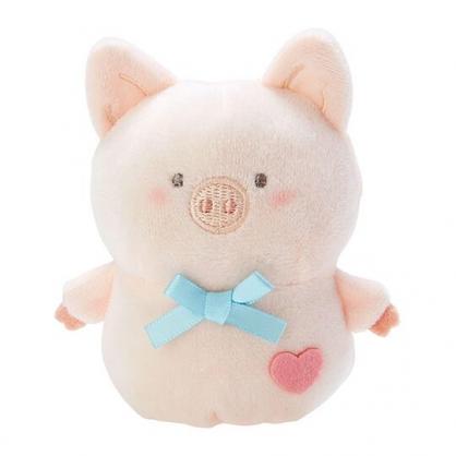 小禮堂 胖胖豬 手指娃娃 絨毛 玩偶 指偶 手偶 布偶 玩具 (米)