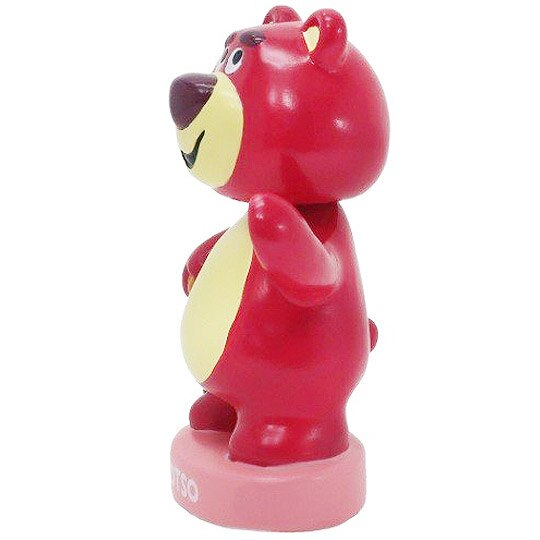 小禮堂 迪士尼 玩具總動員 熊抱哥 搖搖公仔 陶瓷擺飾 模型 迪士尼公仔 (桃 站姿)